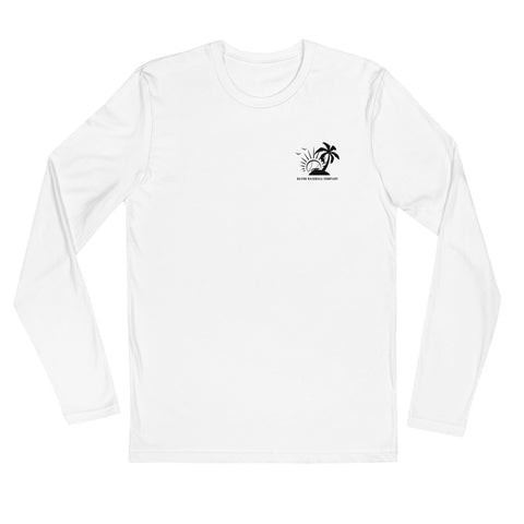 Gator Island Long Sleeve Fitted Crew