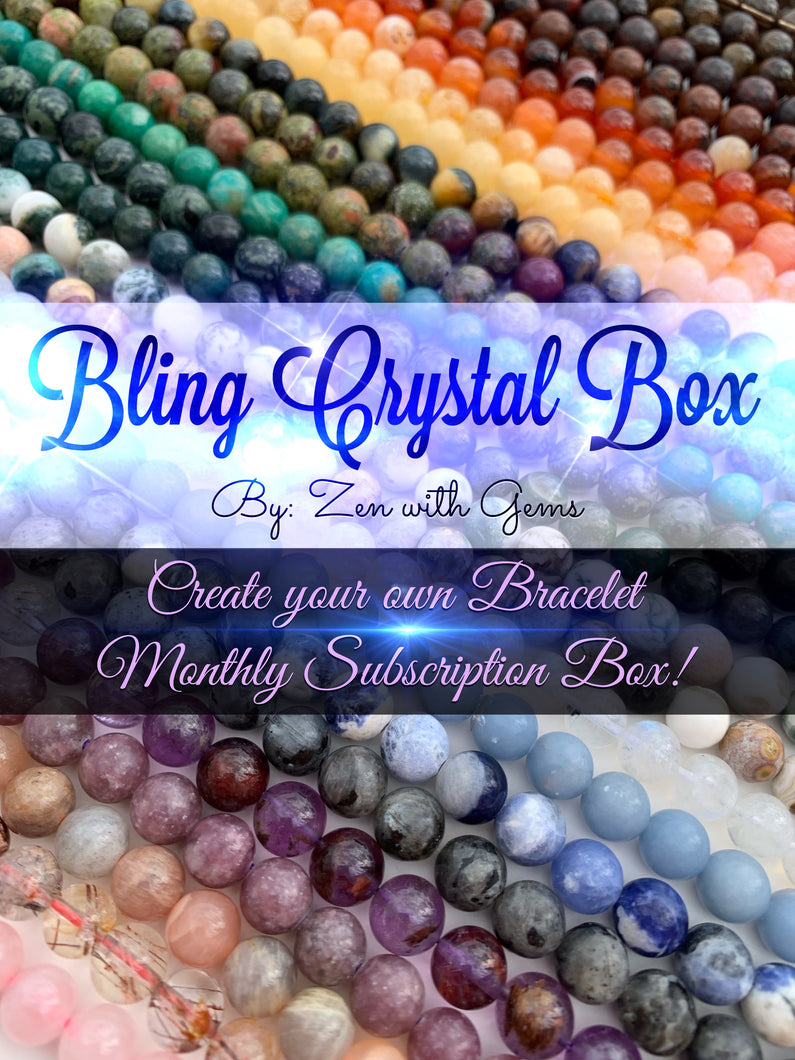 Bling Crystal Box Monthly Subscription