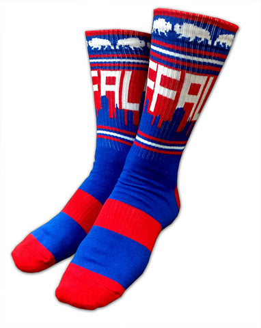 Buffalo Skyline Socks - Royal