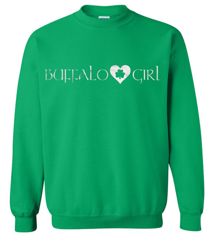 Buffalo Girl Irish - Crew neck sweatshirt