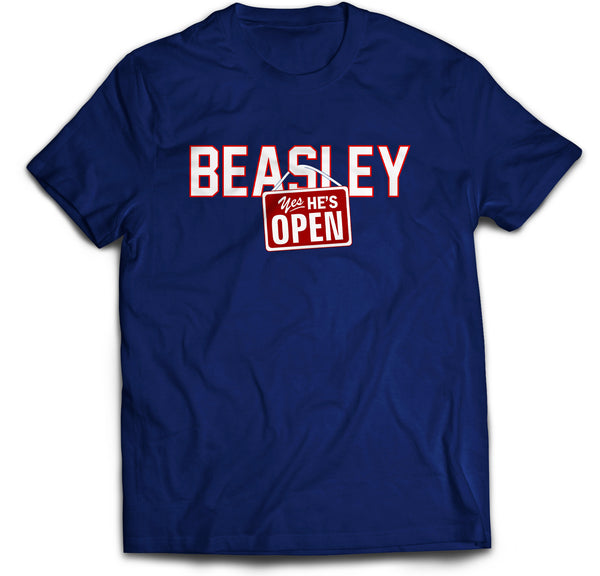 Beasley is Open