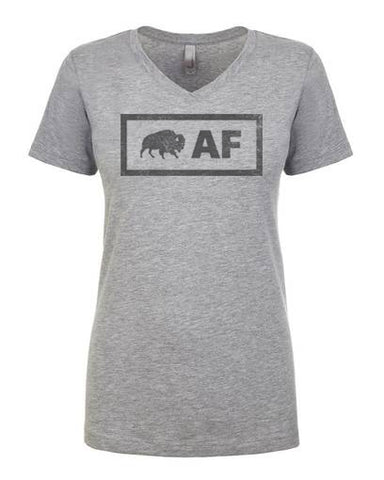 Buffalo AF - Ladies V-neck