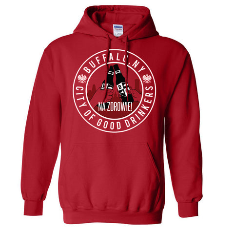 City of Good Drinkers - Polish - Hoodie