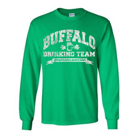 Buffalo Drinking Team - Irish - LongSleeve