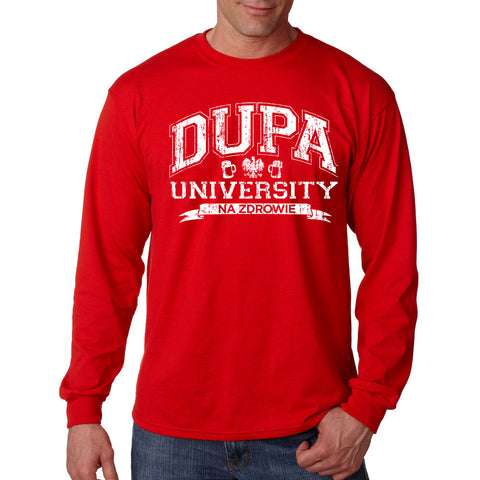 Dupa University - Polish - Men's Long Sleeve T