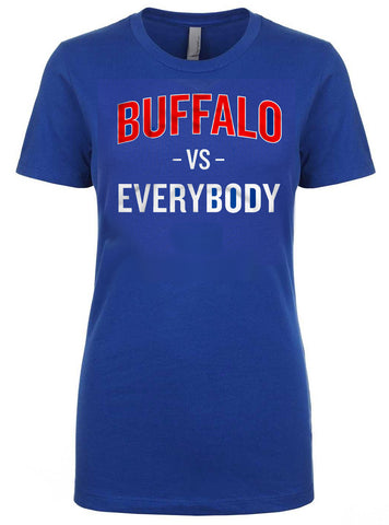 Buffalo VS Everybody - Ladies Fitted crew neck