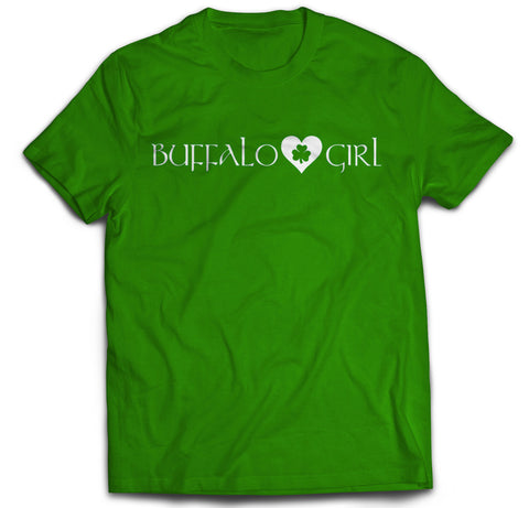 Buffalo Girl Irish - Adult T-Shirt