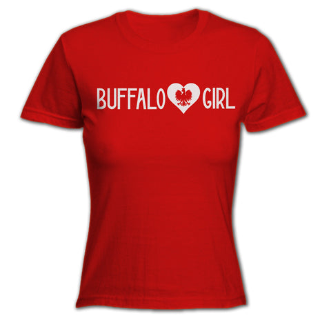 Buffalo Girl - Polish - Ladies T