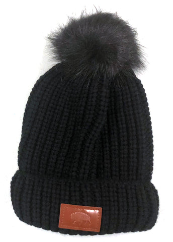 Buffalo Cable Knit Hat