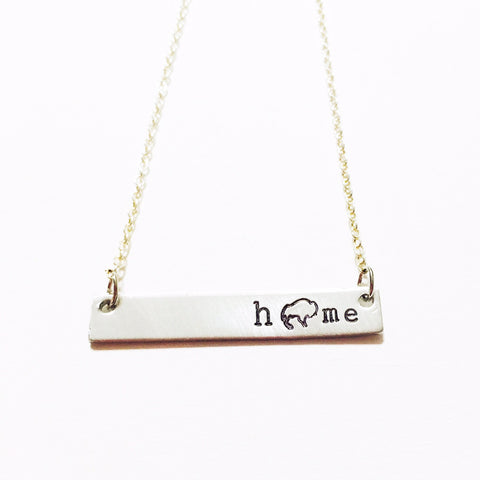 Home Buffalo Necklace