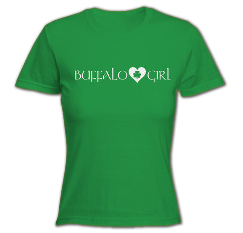 Buffalo Girl Irish - Ladies Fitted