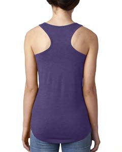 7RUN6 - Purple - Ladies Racerback Tank Top