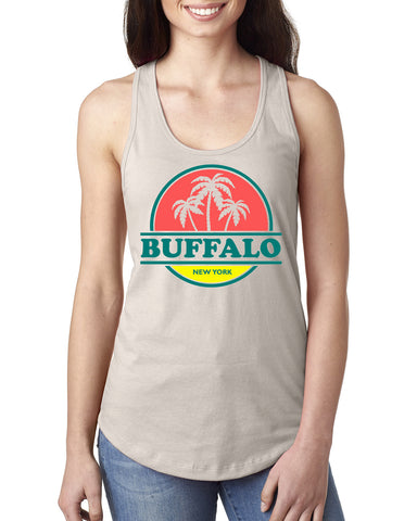 Tropic of Buffalo - Ladies Racerback Tank