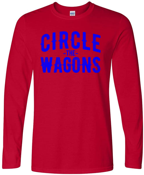Circle the Wagons - LongSleeve T