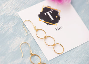 Cindy Open Circle Earrings - tissinyc