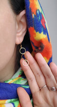 Load image into Gallery viewer, Cindy Open Circle Earrings - tissinyc
