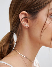 Load image into Gallery viewer, Jan Snake Pave Climber Earring - tissinyc