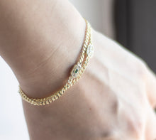 Load image into Gallery viewer, Micarah chain bracelet - tissinyc