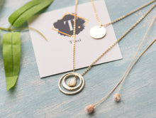 Load image into Gallery viewer, Katara Gold Layered Necklace - tissinyc