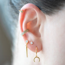 Load image into Gallery viewer, Haley Dangling Spike Earrings - tissinyc