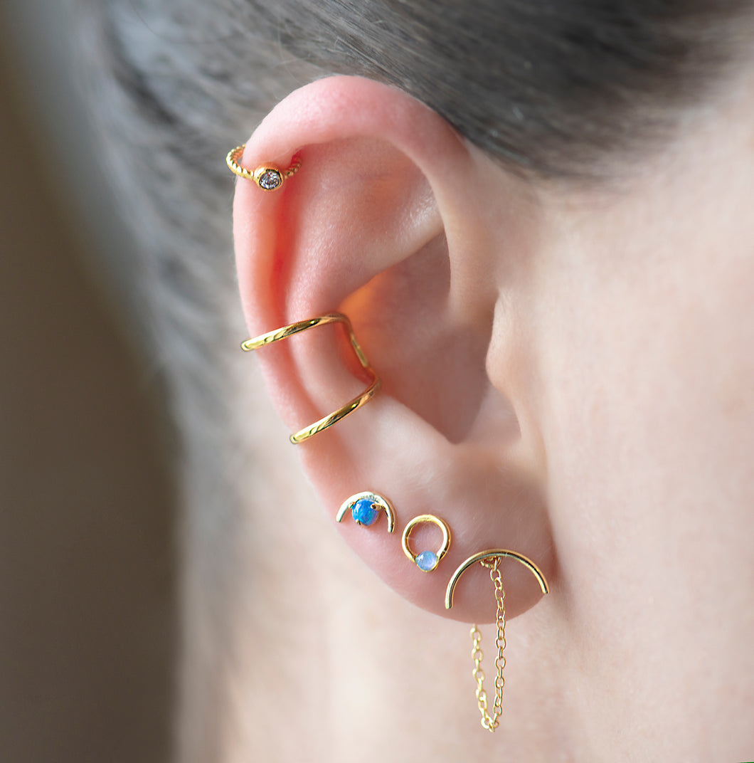 Mel Cartilage Ear Cuff - tissinyc