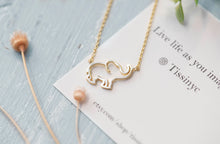 Load image into Gallery viewer, Dainty Elephant Necklace - tissinyc