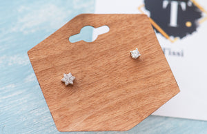 Julie Assorted Silver Studs - tissinyc