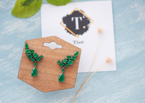 Adaline Vintage Climber Earrings - tissinyc