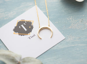 Missa Double Horn Necklace - tissinyc