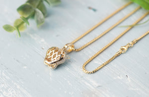 Gold Jaguar Necklace - tissinyc