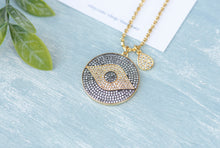 Load image into Gallery viewer, Sauron Evil Eye necklace - tissinyc
