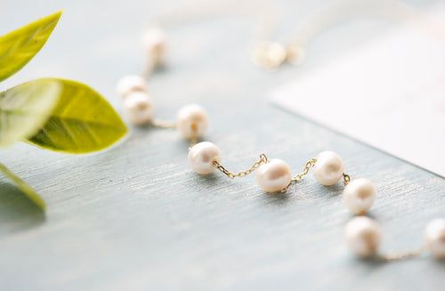 Modern Freshwater Pearl Necklace - tissinyc