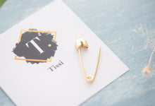 Load image into Gallery viewer, Gigi Safity Pin Earrings - tissinyc