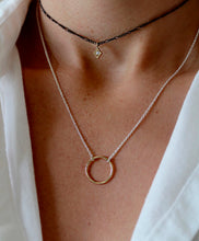 Load image into Gallery viewer, Olivia Simple Open Circle Necklace - tissinyc
