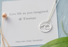 Load image into Gallery viewer, Wave Necklace - tissinyc