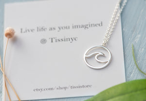 Wave Necklace - tissinyc