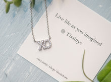Load image into Gallery viewer, XO Necklace - tissinyc