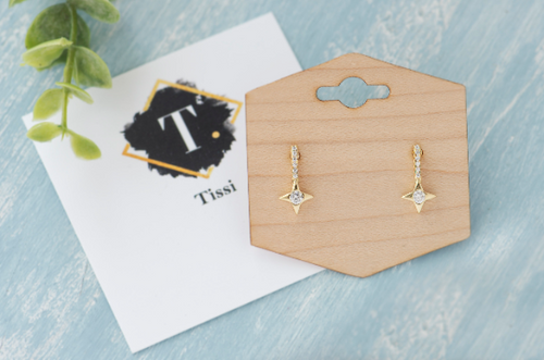 Heidi Small Star Studs - tissinyc