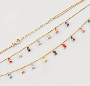 Tina Colorful Layered Necklace - tissinyc
