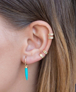 Sammy Flat Double Ear Cuff - tissinyc