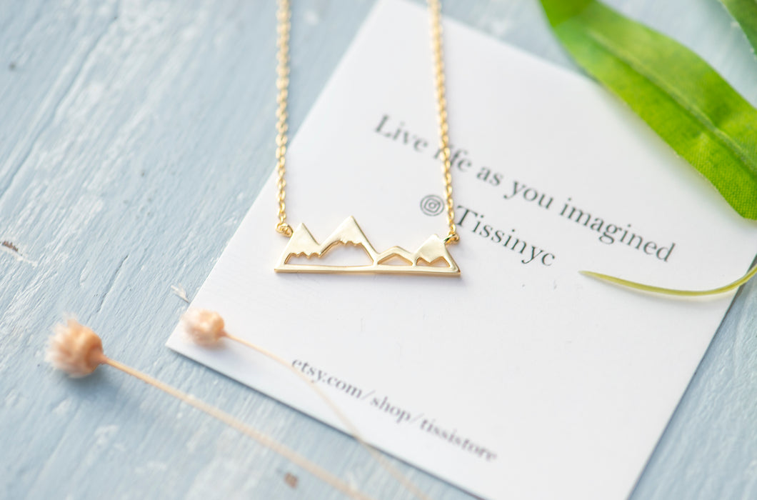 Mountain Necklace - tissinyc