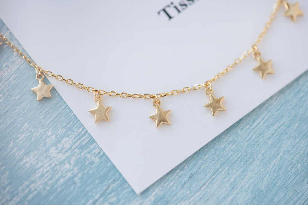 Etoile Star Choker Necklace - tissinyc