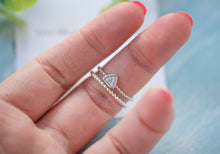 Load image into Gallery viewer, Naya triangle skinny ring set - tissinyc