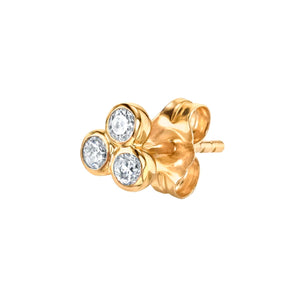 Sandy Dangle flower stud - tissinyc