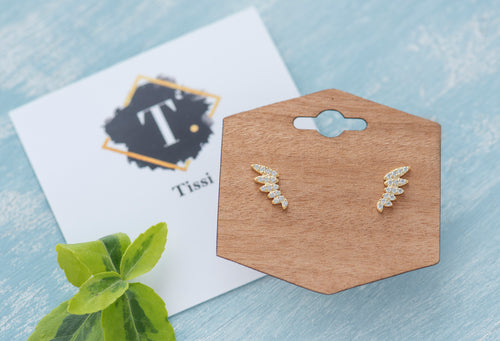 Carry Wing Stud Earrings - tissinyc