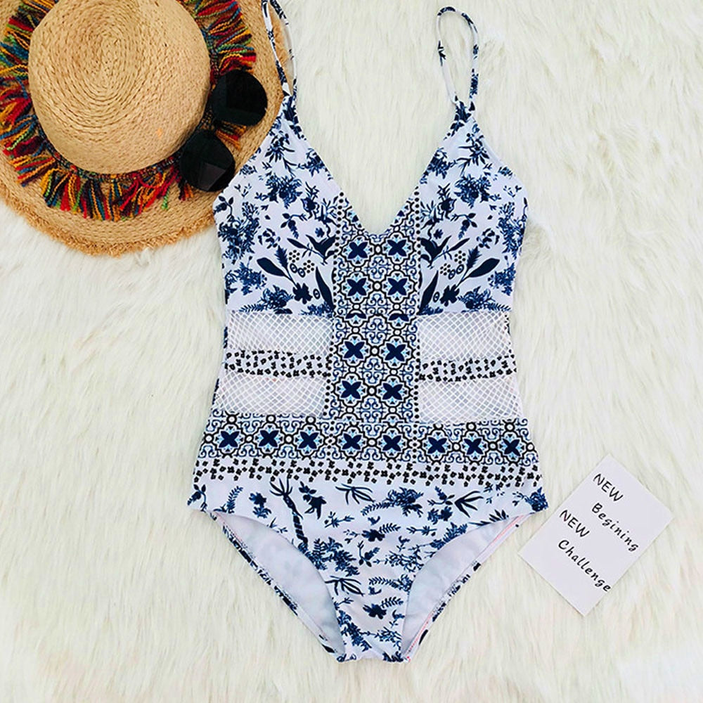 One Piece Push-Up P Swimsuit