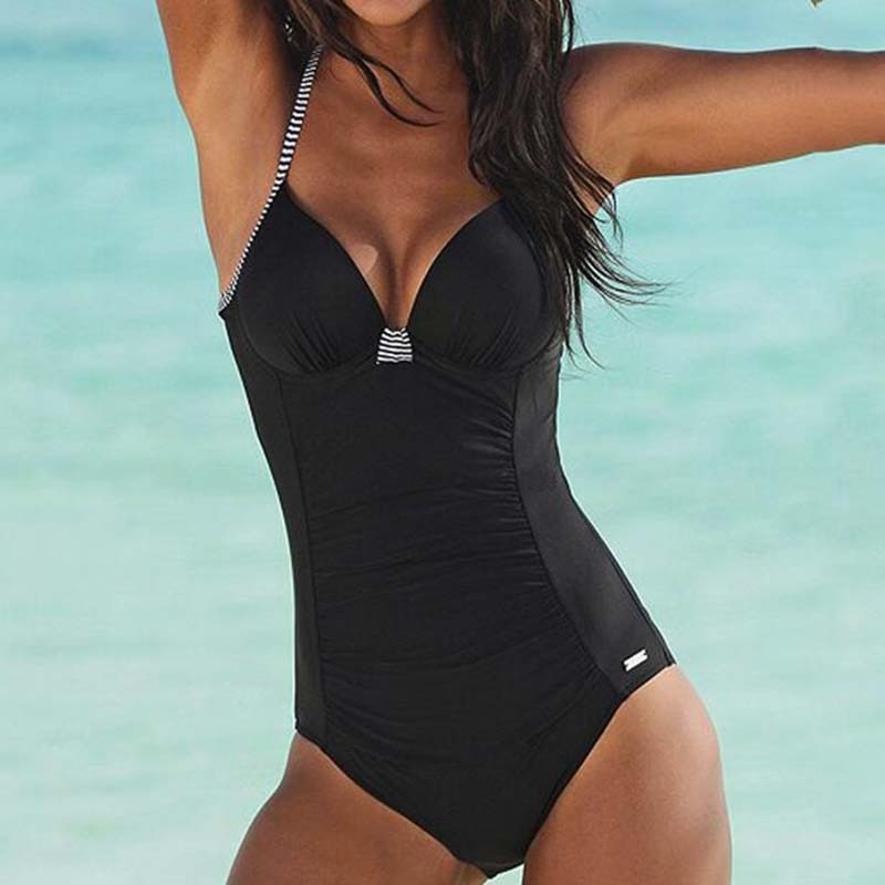 Slim Fit One-Piece Swimsuit