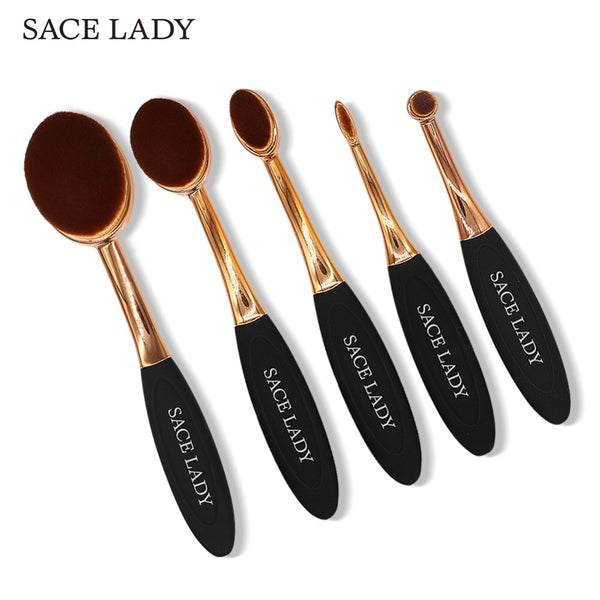 SACE LADY Make Up Brushes Professional Foundation Make-up Brush Set Blush Powder Makeup Kit For Shadow Highlighter Tool Cosmetic