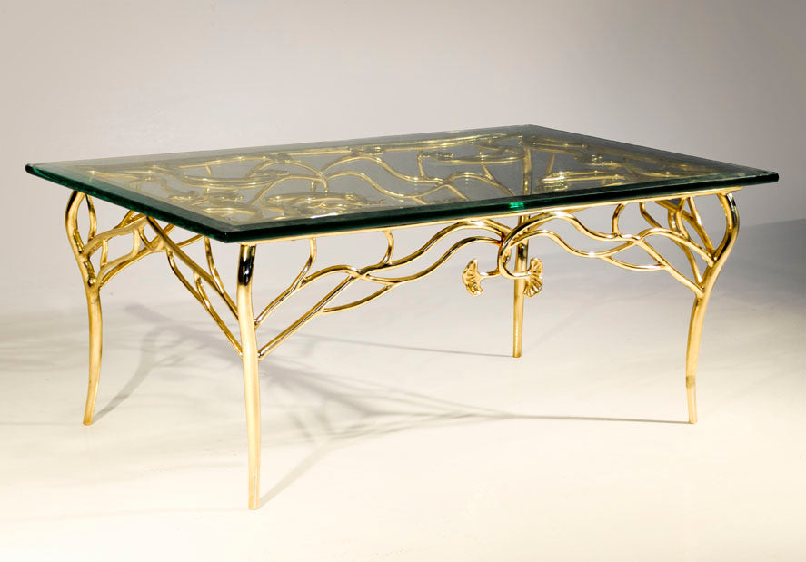 Cast Bronze Coffee Table ST-034