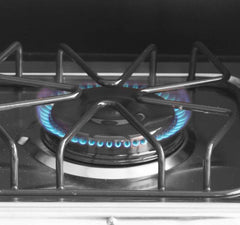 Outdoor 2 burner Gas Stovetop  with Lid